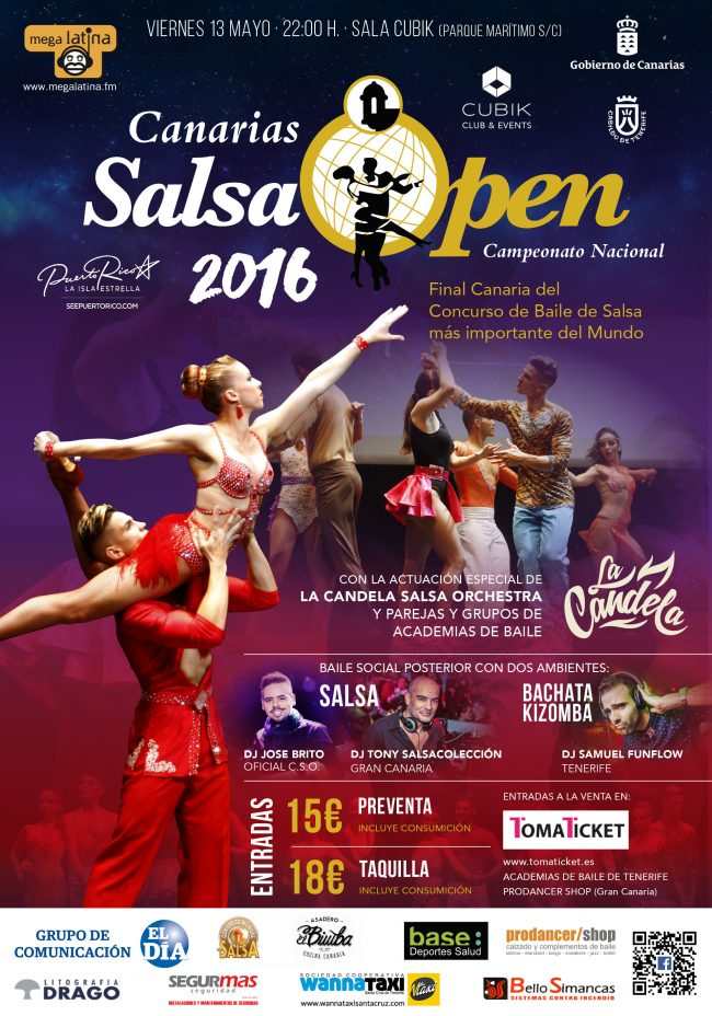 Cartel Salsa Open 2016